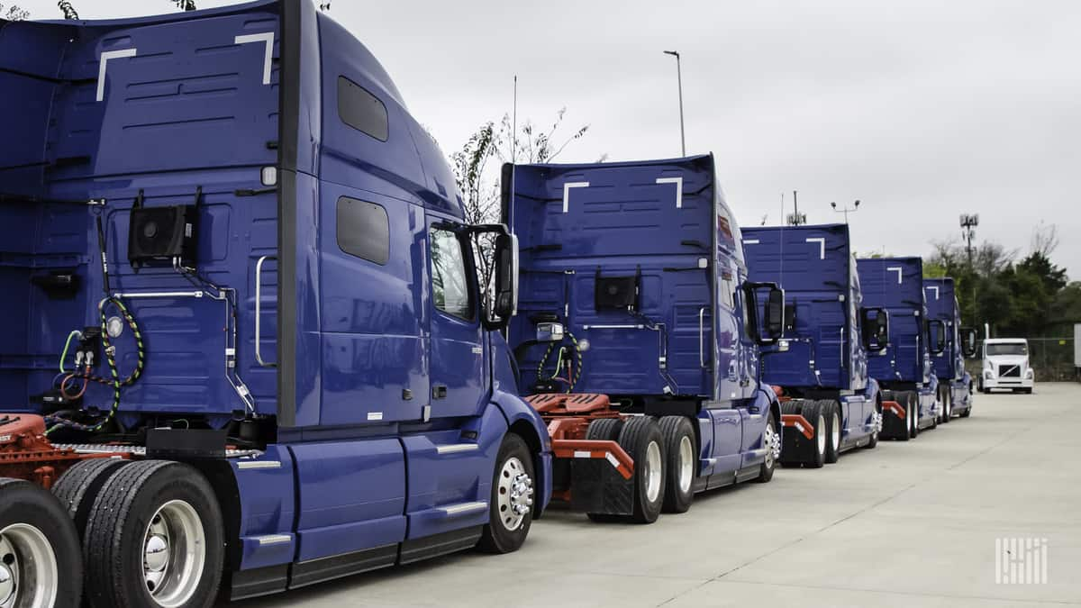April Class 8 truck orders: Too much of a good thing?