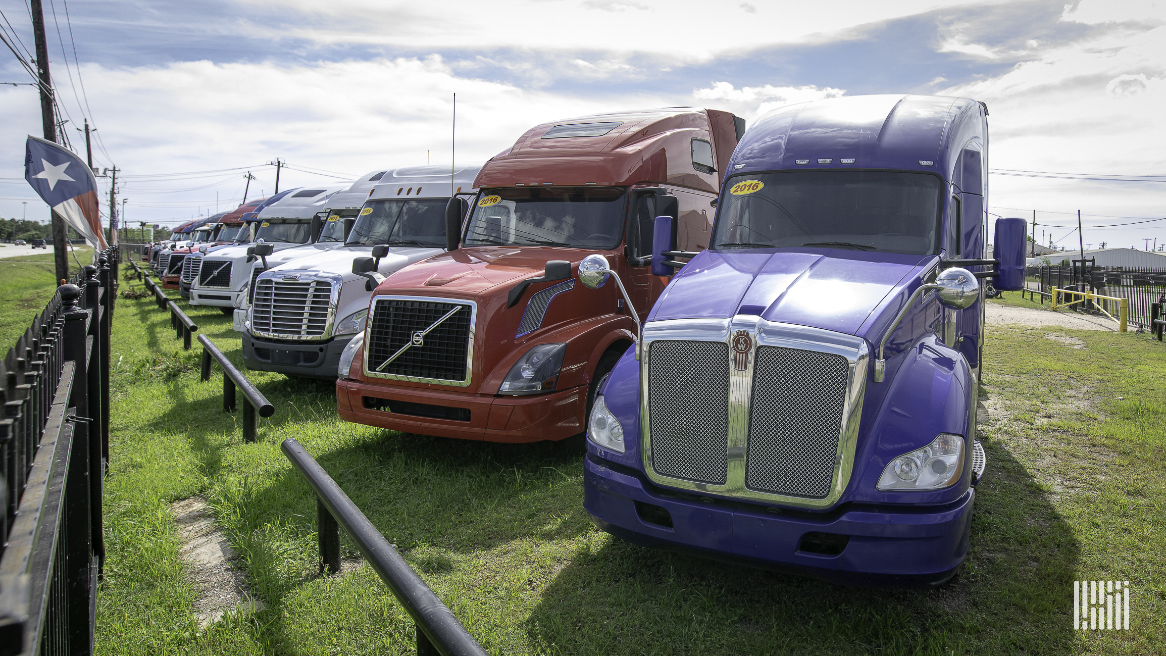 Late-model used truck prices go stratospheric