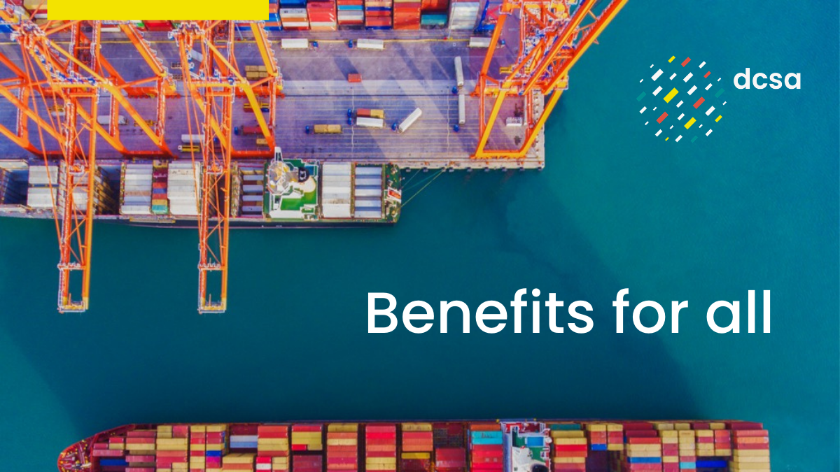 Benefits for all: How standardisation is bridging container shipping's digital divide
