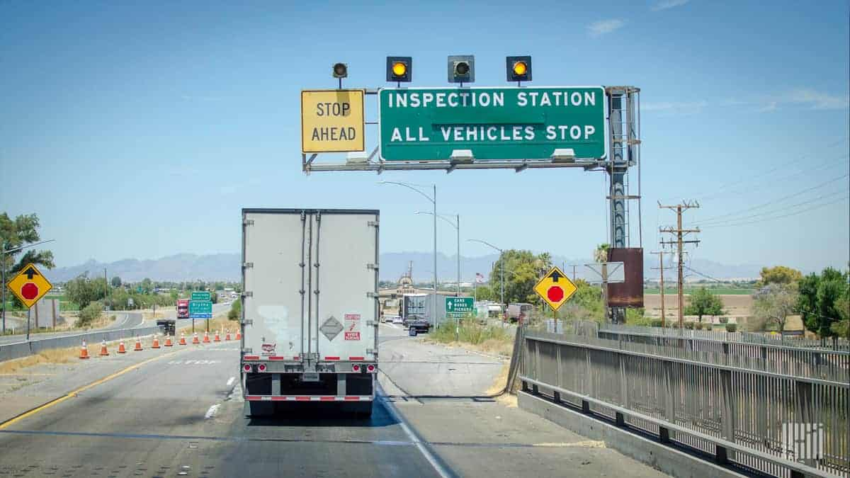 What will CVSA inspectors be checking during Operation Safe Driver Week?