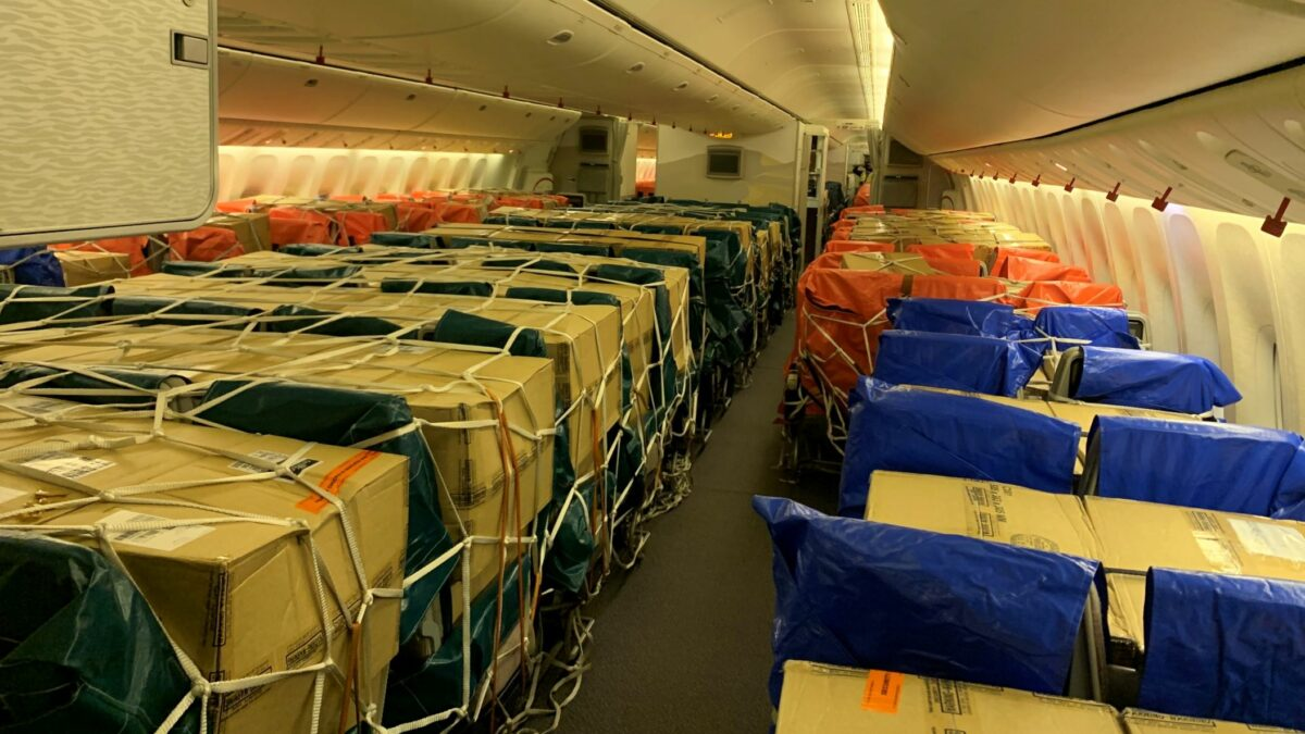 Cargo-in-cabin innovation remains popular for some airlines