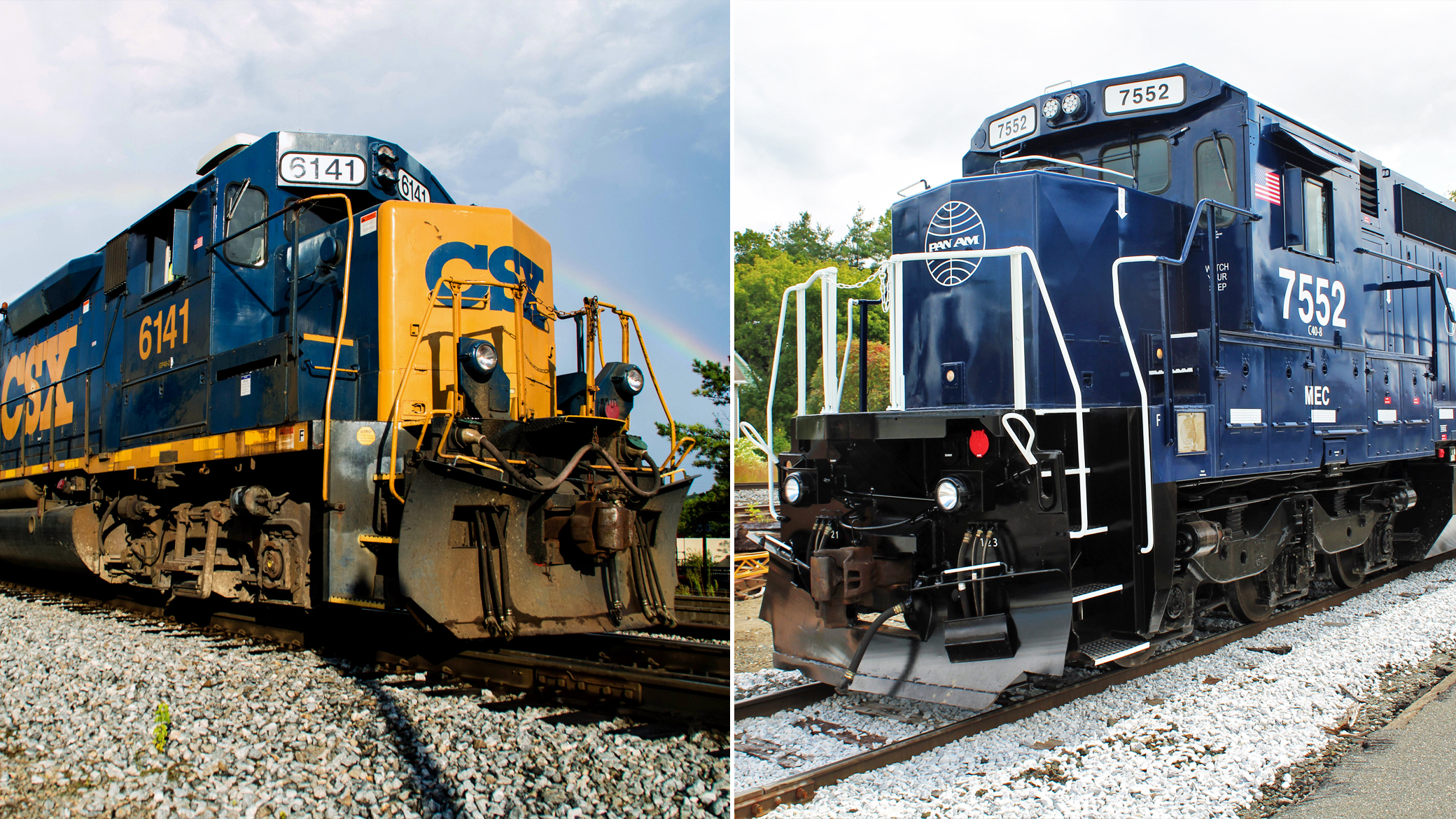 CSX resubmits application to acquire Pan Am Railways