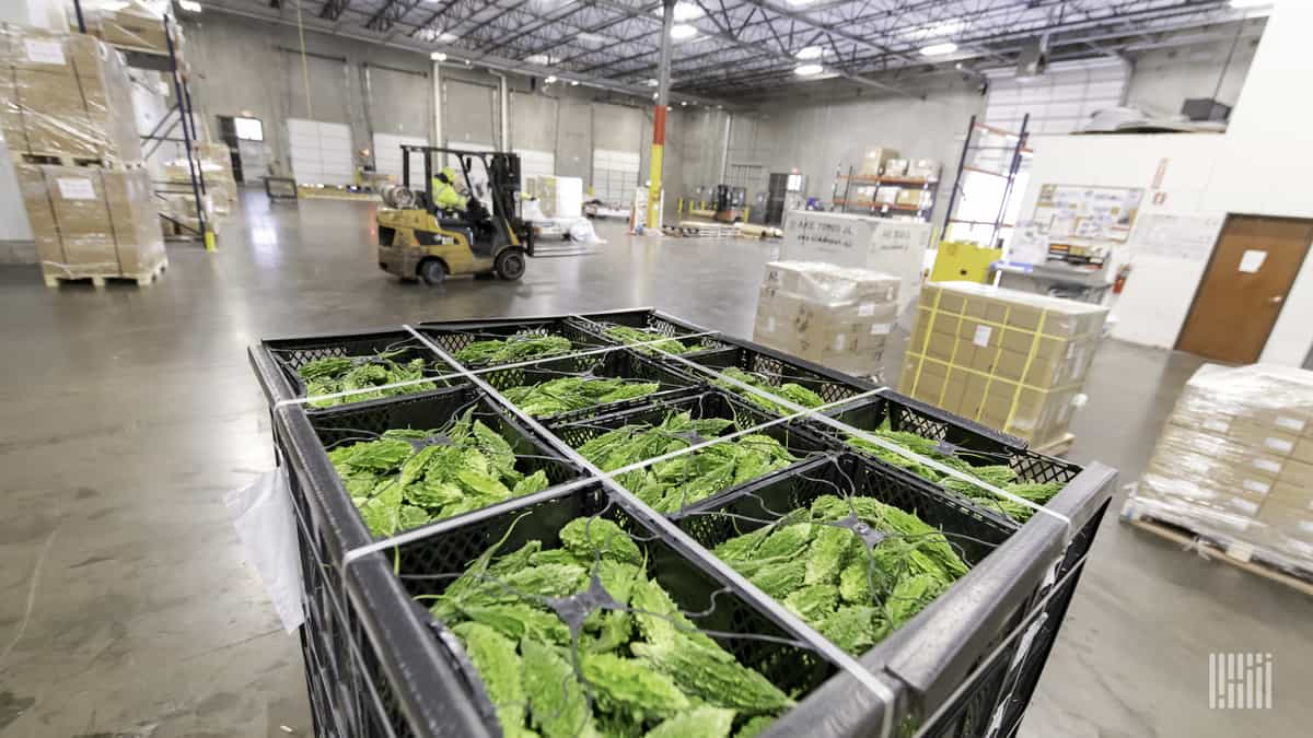 Food inventories 'literally being eaten into,' Americold says
