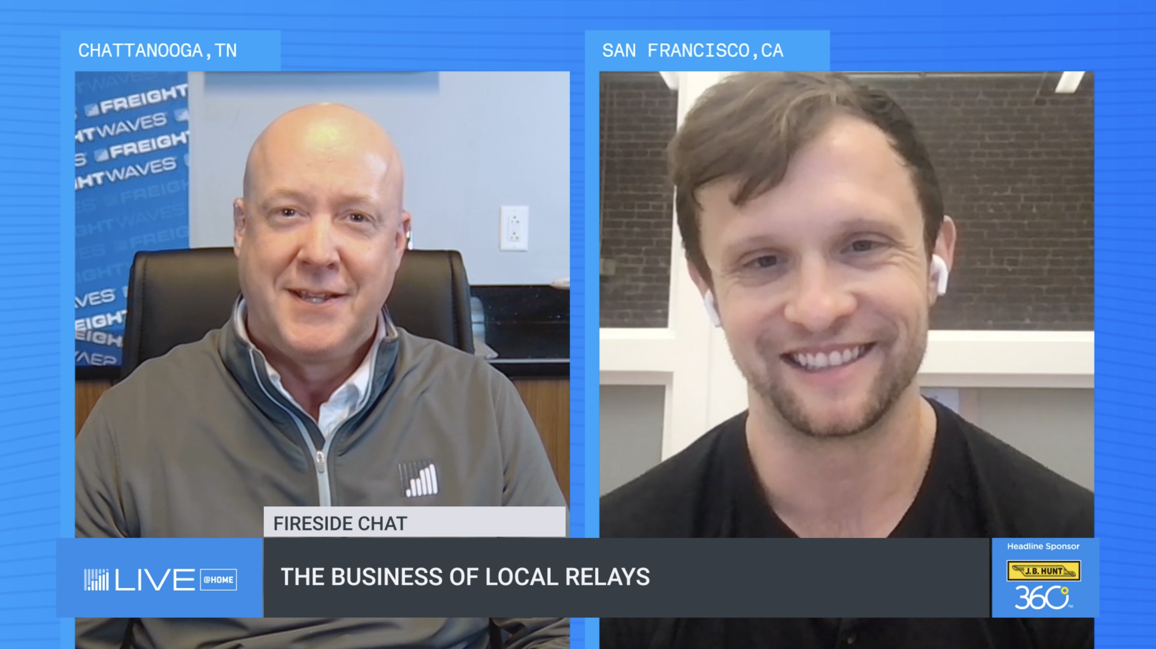 FreightWaves LIVE recap: Local relays help optimize available capacity
