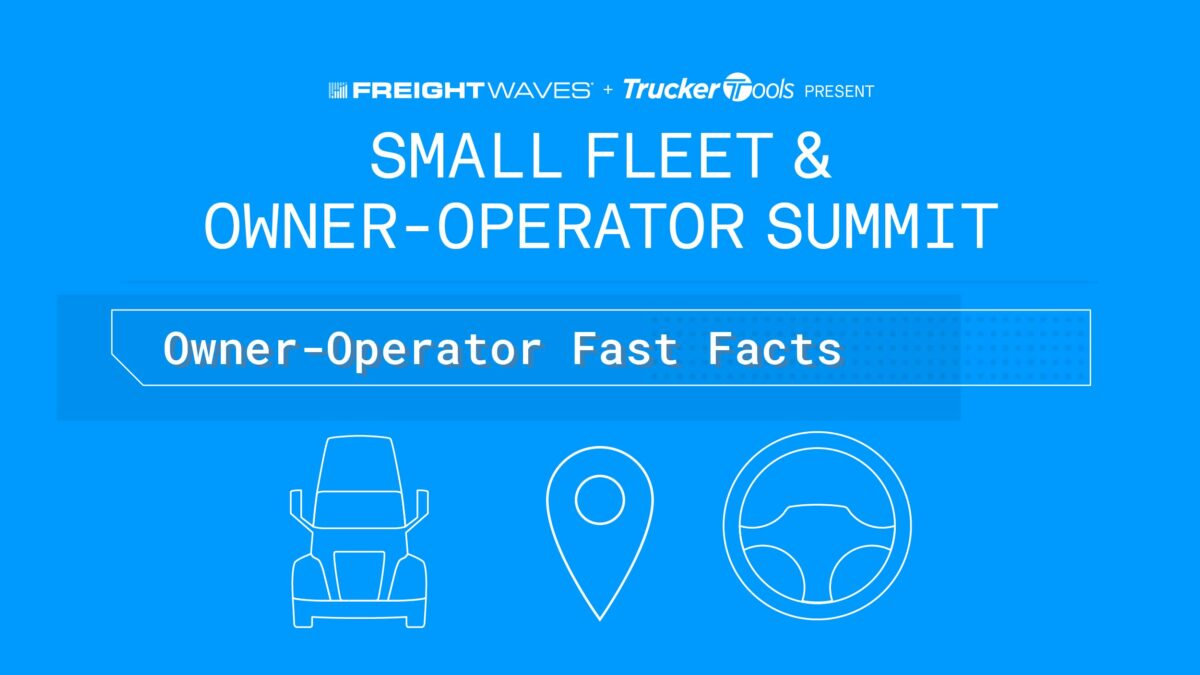 Daily Infographic: Owner-Operator Fast Facts