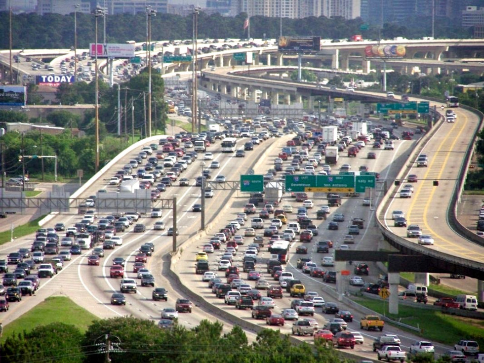 Congested traffic in Houston. (Photo: CultureMap Houston)