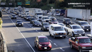 Traffic on I-5 in Oregon. (Photo: Oregon Department of Transportation)