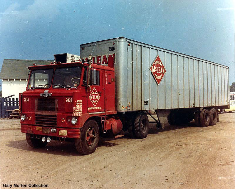 Another McLean Trucking Company tractor-trailer. (Photo: Gary Morton Collection)