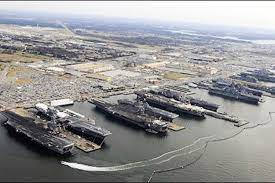 An aerial photo of Naval Station Norfolk. (Photo: cnic.navy.mil)