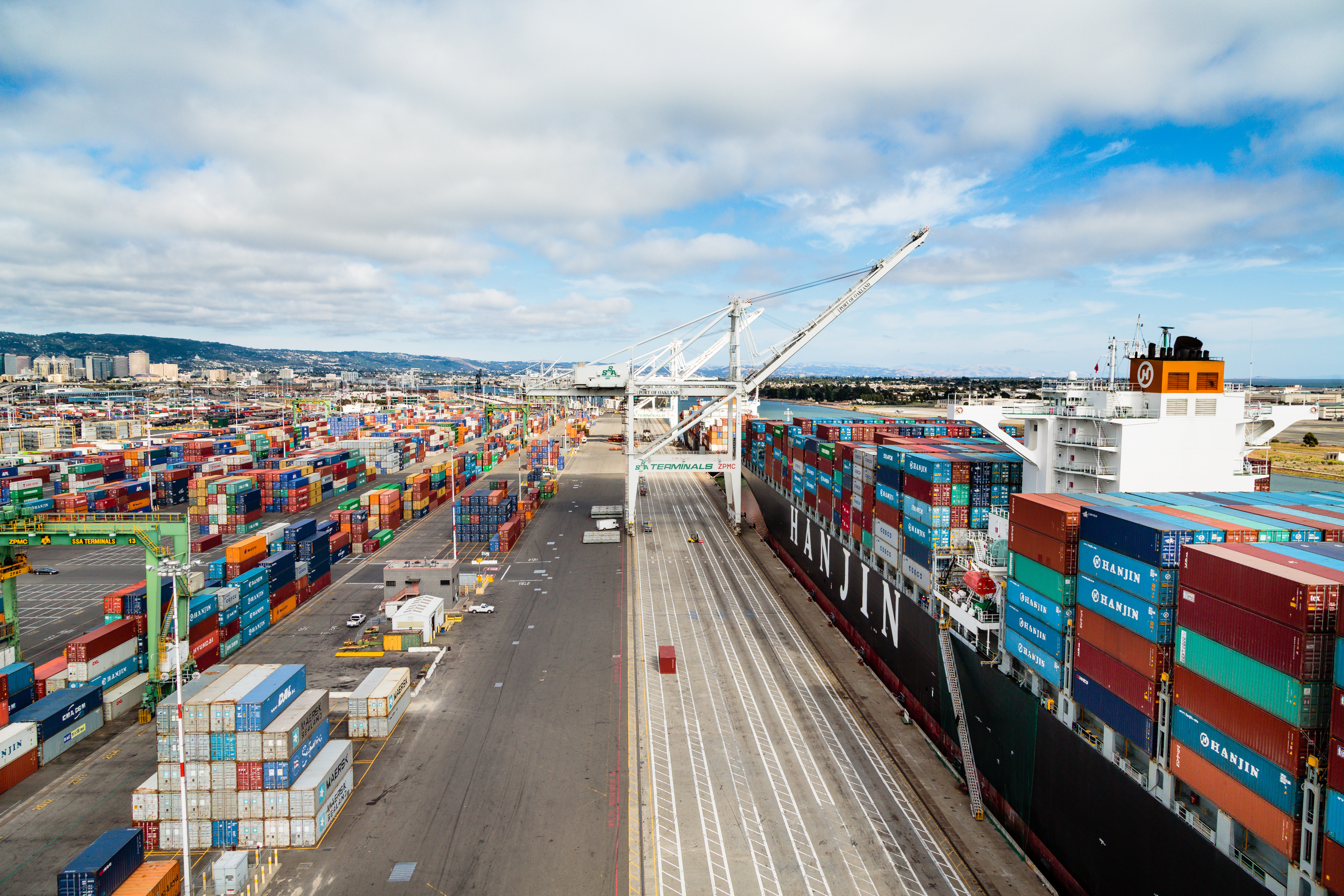 A sea of containers at the Port of Oakland. (Photo: Port of Oakland)