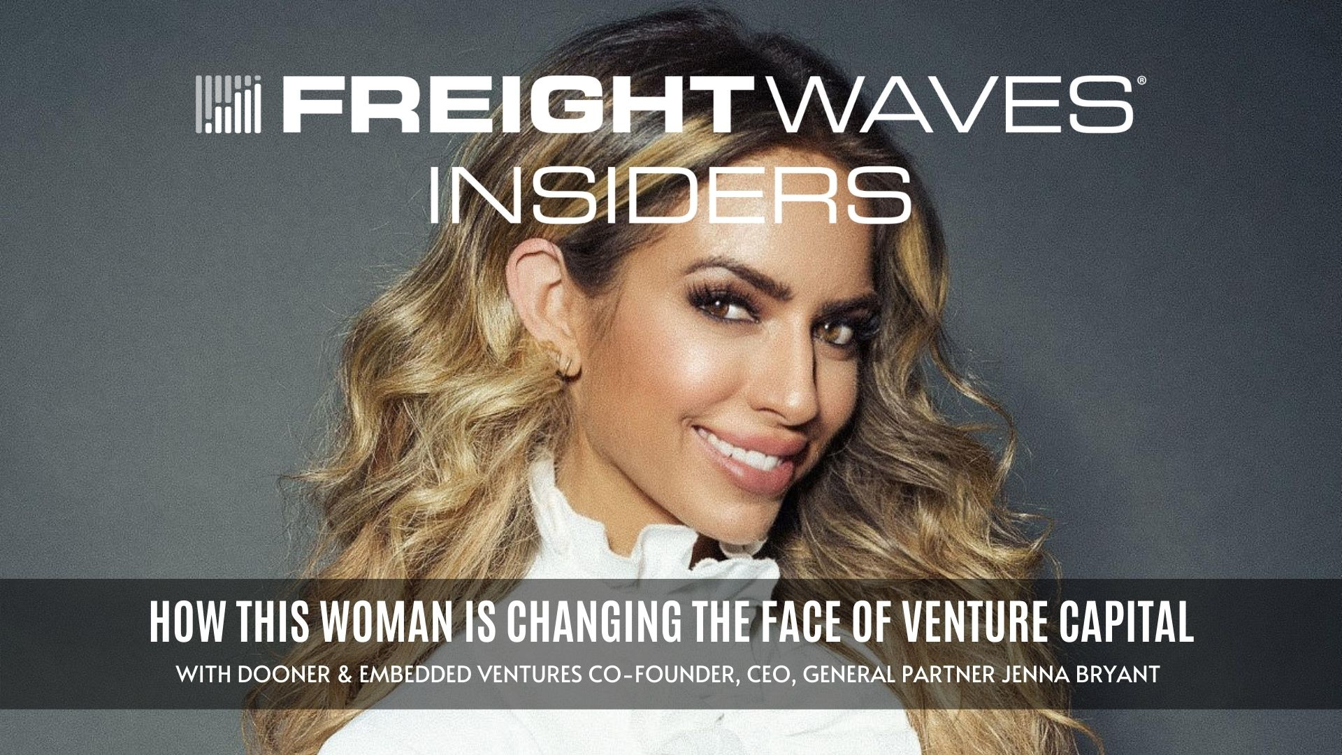 How this woman is changing the face of venture capital — FWI