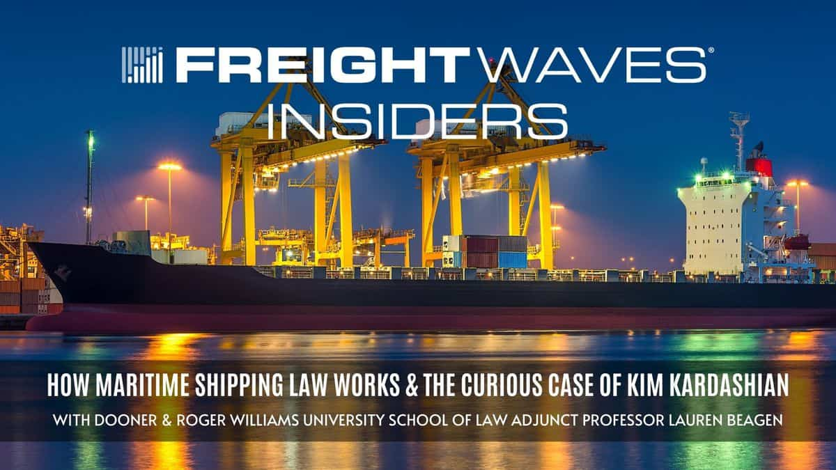 How maritime shipping law works and the curious case of Kim Kardashian — FWI