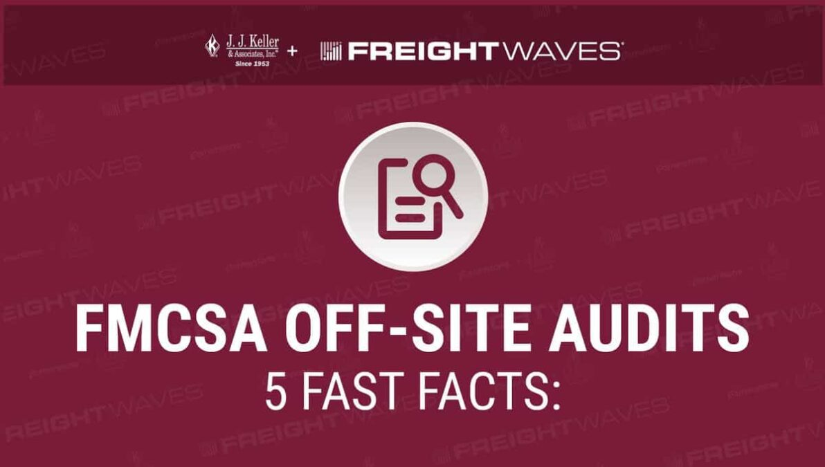 Daily Infographic: FMCSA OFF-Site Audits