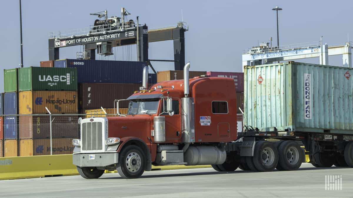 Port Houston container volume up 25% in April