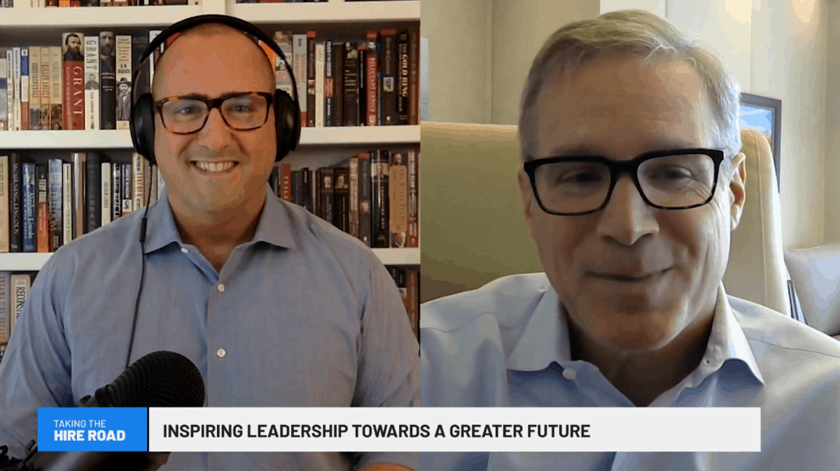 Inspiring Leadership Towards a Greater Future — Taking the Hire Road
