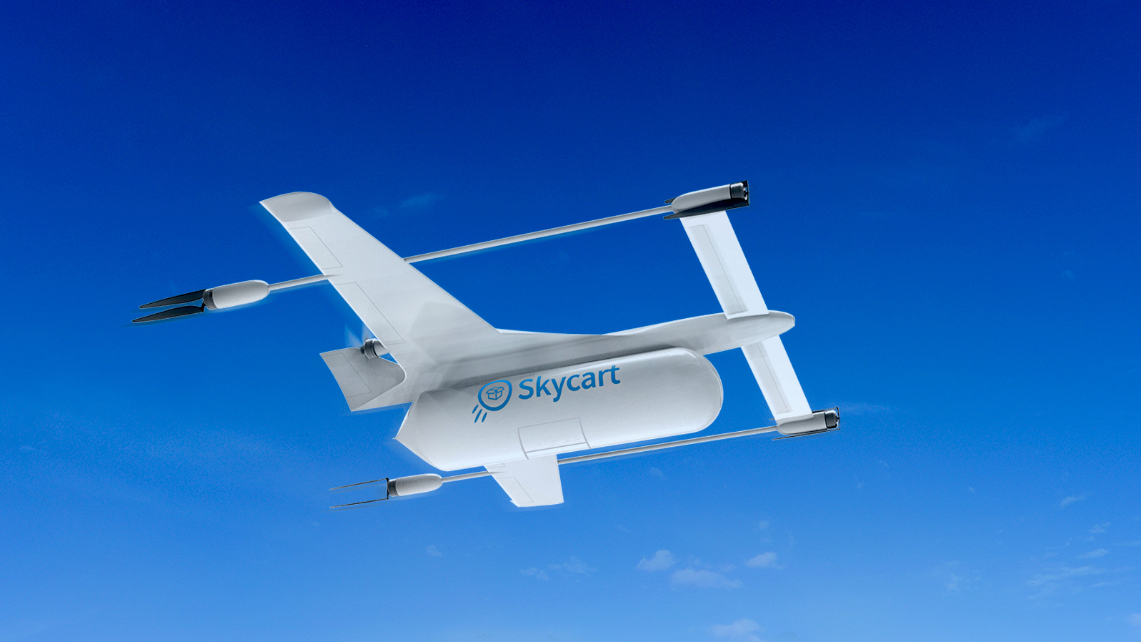 Skycart ups ante with 4-drop delivery drone