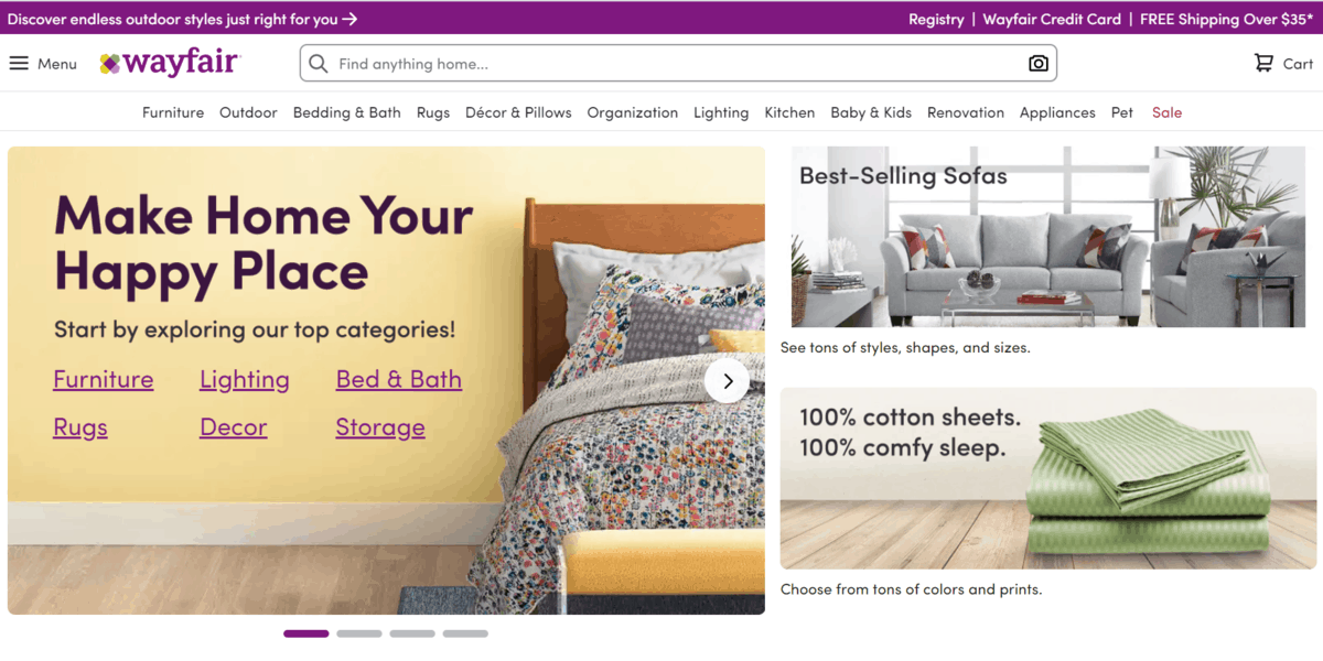 Wayfair revenue jumps nearly 50% in Q1