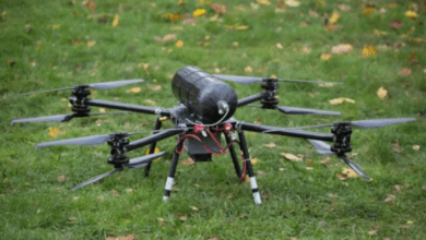 hydrogen-powered drone