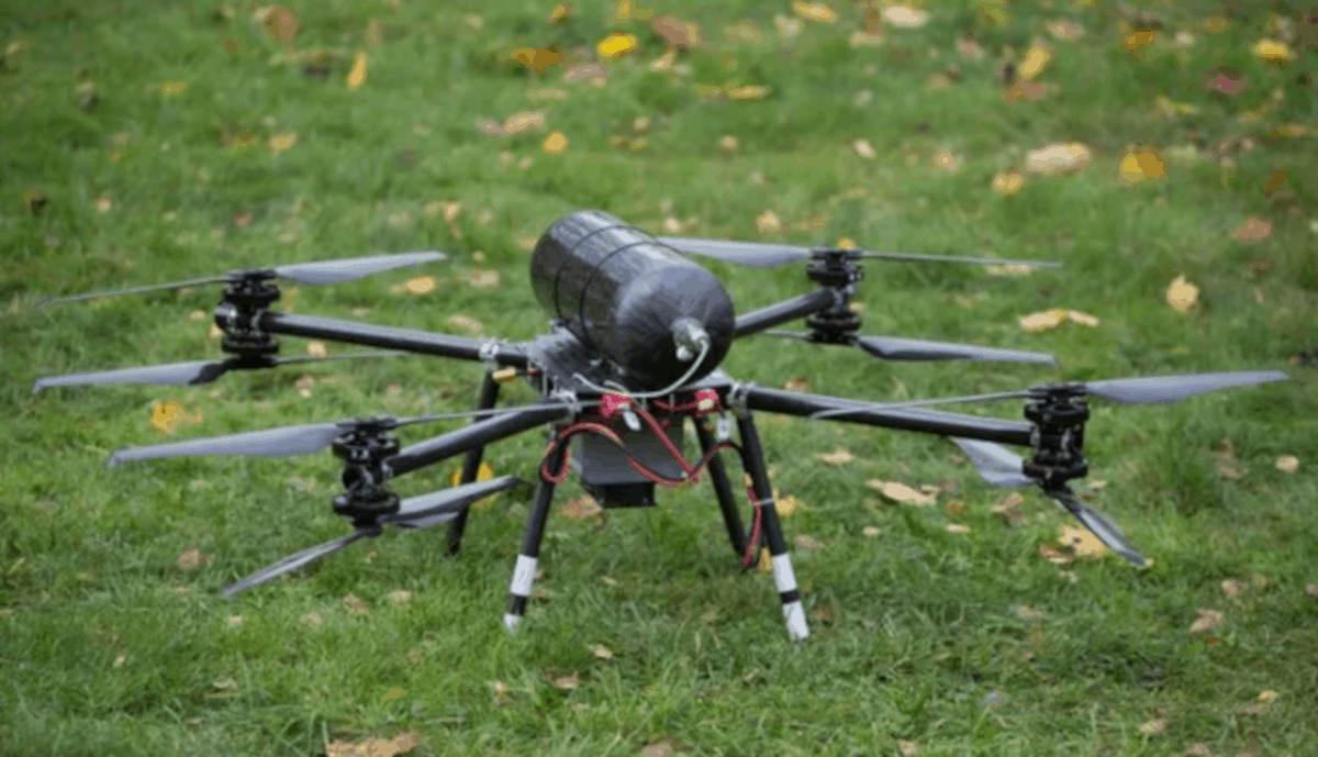 South Korean firm Hypower Lab pushes hydrogen-powered drones