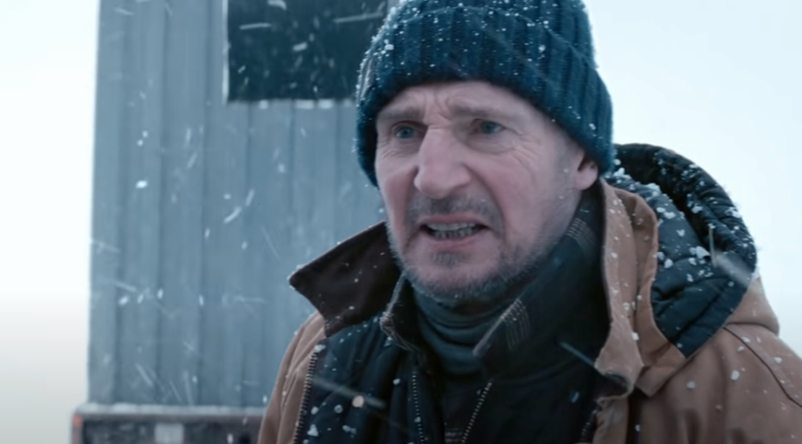 Liam Neeson takes the ice road