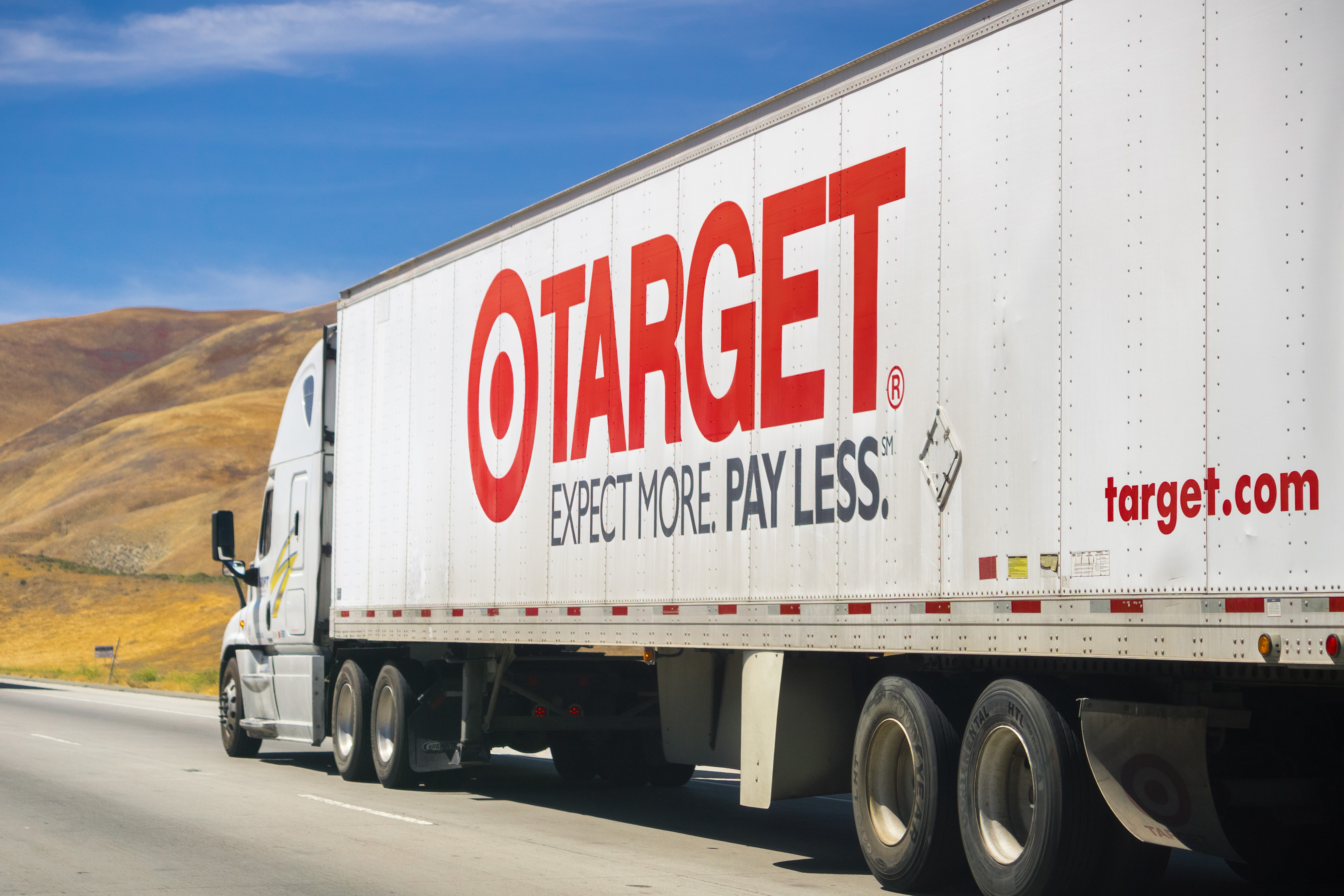 Target and Walmart building inventories for different reasons