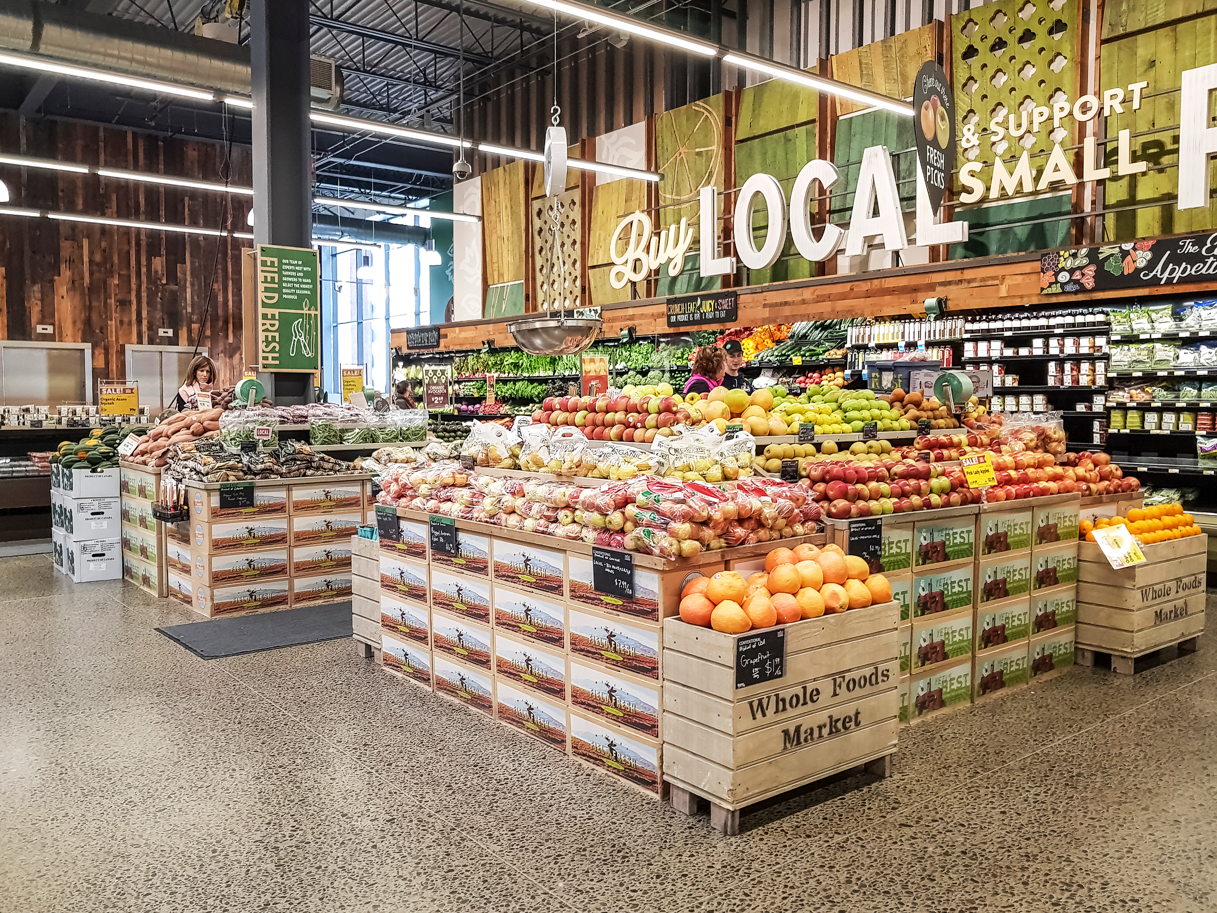 Centralized buying at Whole Foods goes directly against its ethos