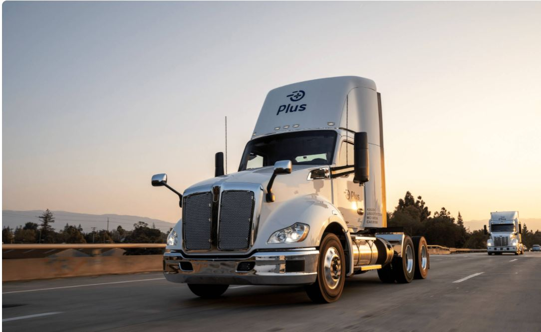 Amazon paying $150M for 20% stake in Plus and buying 1,000 trucks