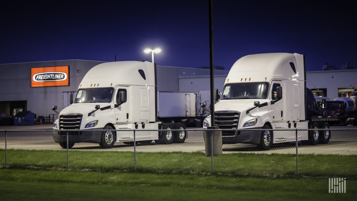 Fall in May Class 8 truck orders masks underlying demand