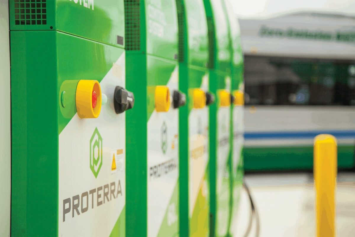 Bus and battery maker Proterra exits SPAC with $640M payout