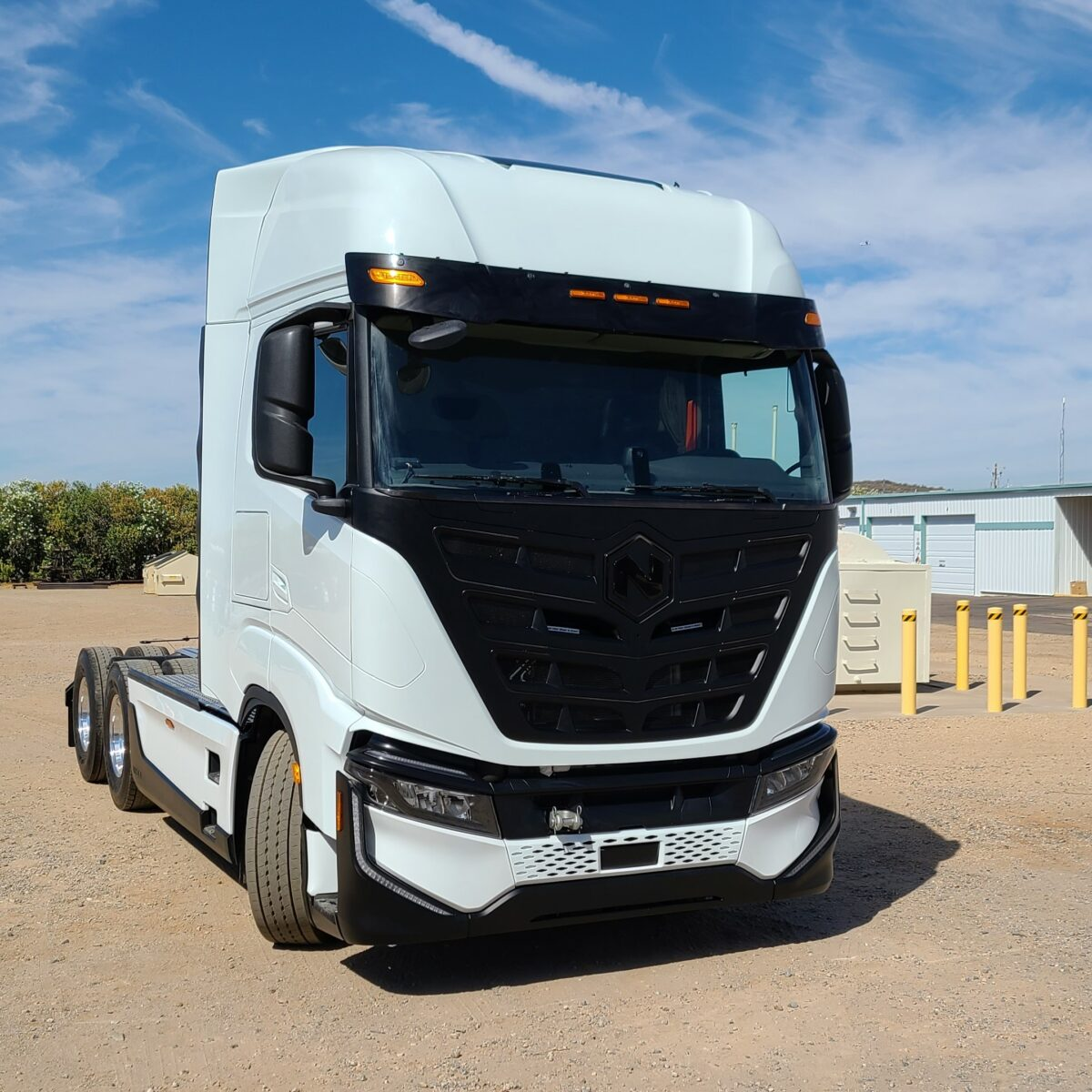 Exclusive first ride: Nikola electric truck can turn on a dime