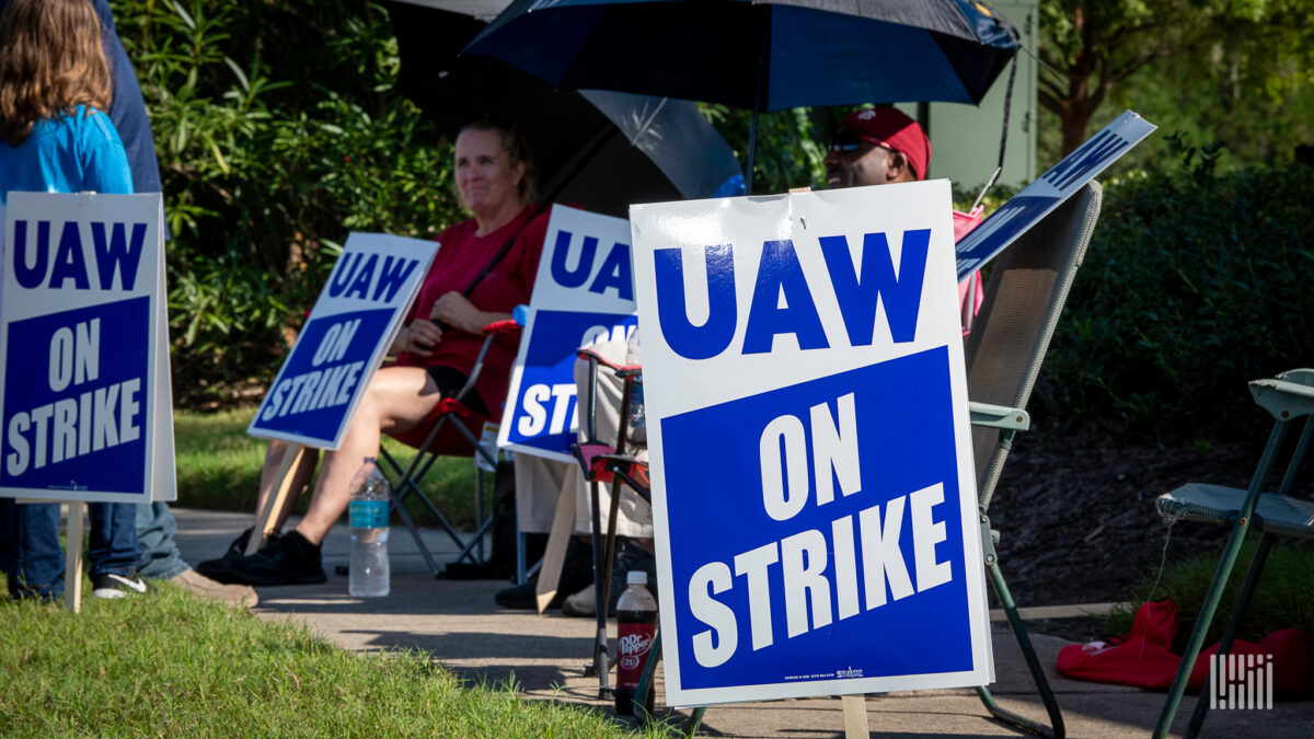 Impact of UAW strike at Volvo spreads to Maryland engine plant