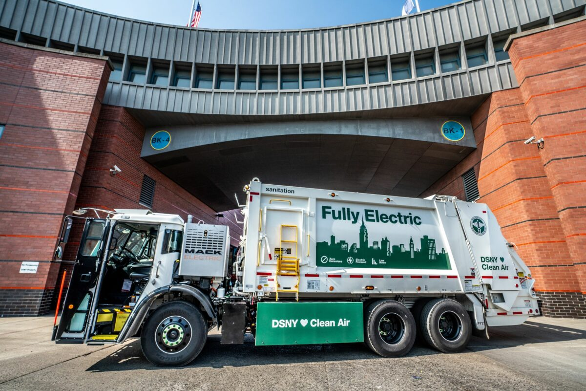 Mack gets down and dirty with NYC garbage truck order
