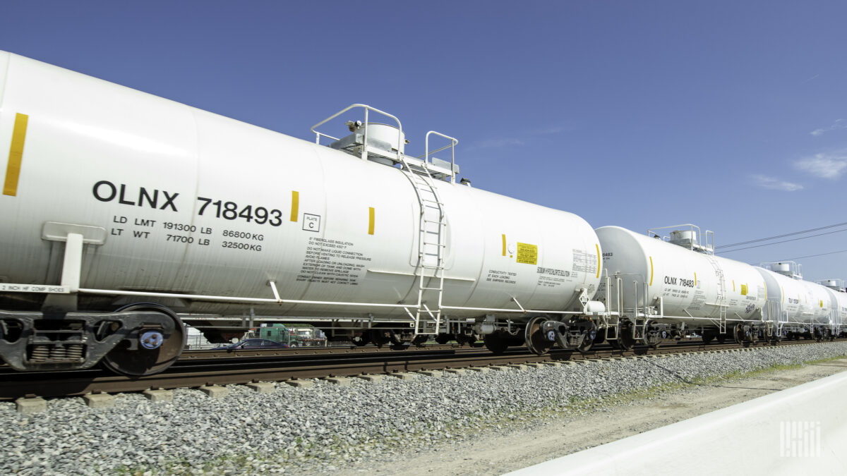 Chemicals shippers relay rail service woes to regulators