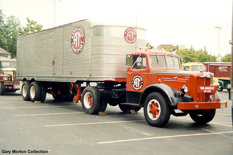 An Associated Transport tractor-trailer. At one time, Associated Transport was the largest trucking company in the U.S.  (Photo: Gary Morton Collection)