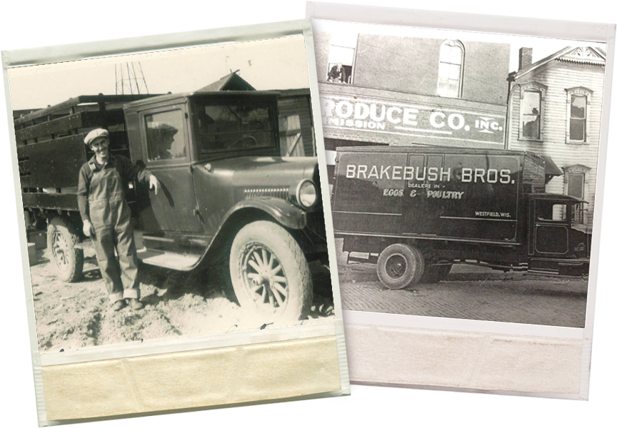Trucks were much smaller and lighter in the 1930s. (Photos: Brakebush Brothers)