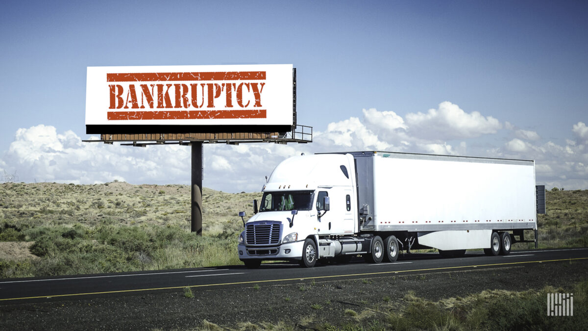 Legal woes force Illinois trucking company to close, file Chapter 7