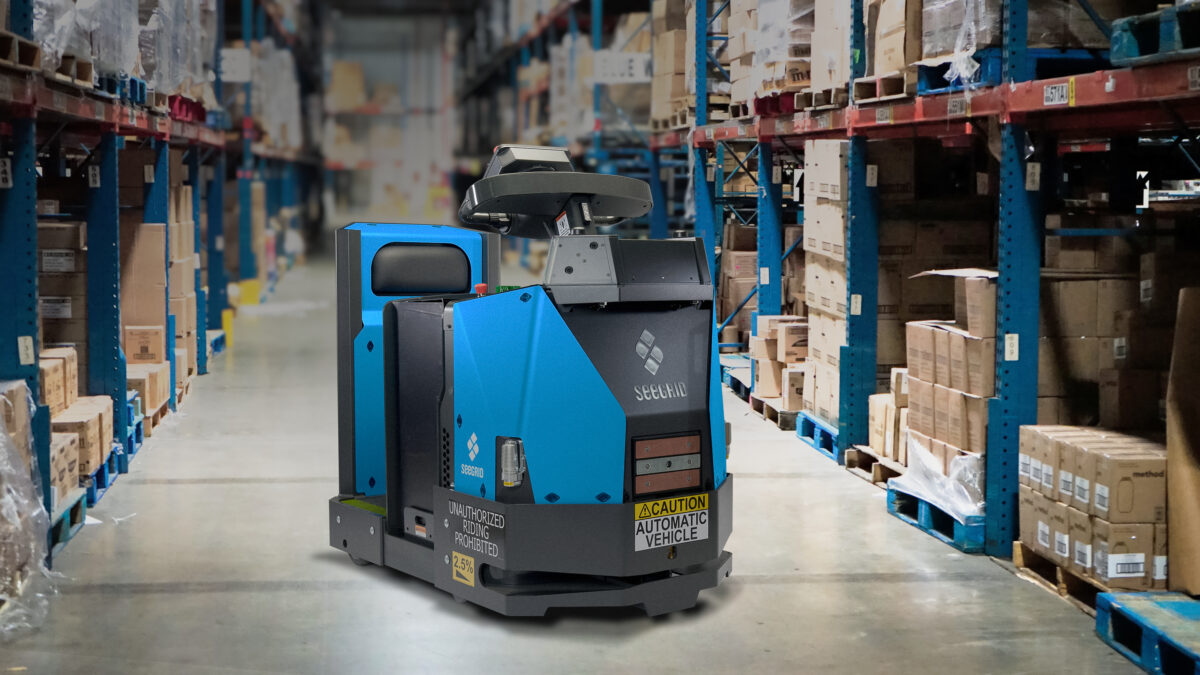 Seegrid introduces upgraded autonomous Tow Tractor