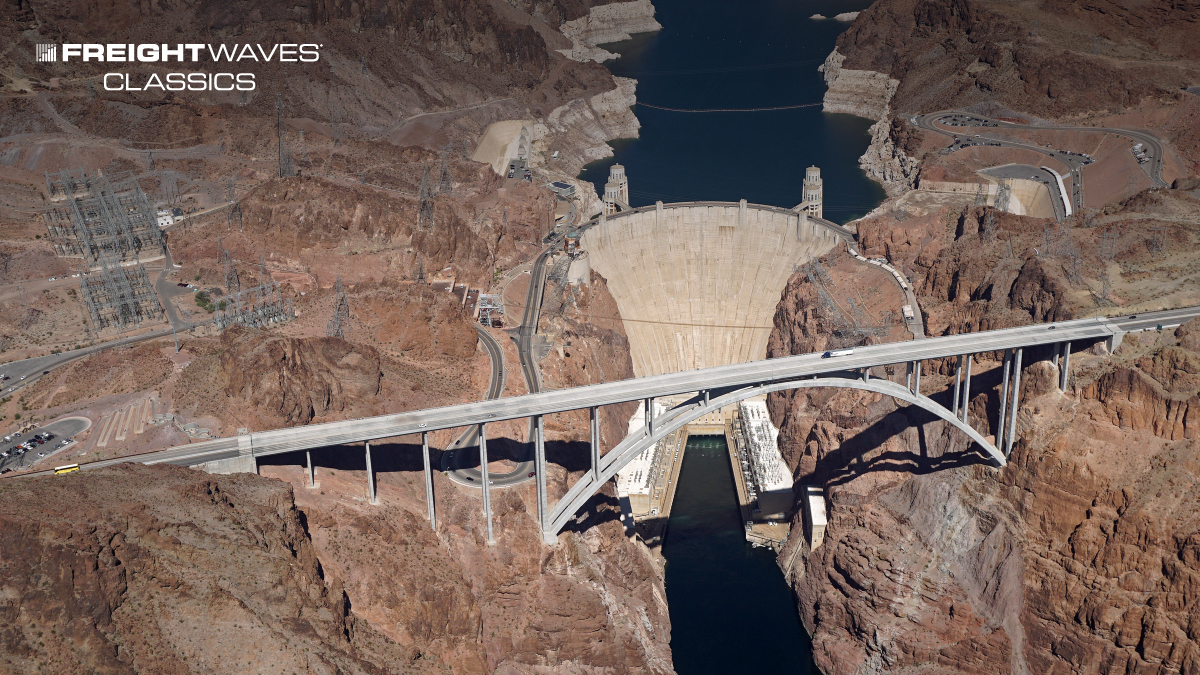 The Mike O'Callaghan–Pat Tillman Memorial Bridge is an arch bridge in the United States that spans the Colorado River between the states of Arizona and Nevada. (Photo: Federal Highway Administration)