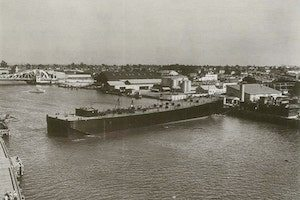 A Crowley sea-going oil barge. (Photo: Crowley)