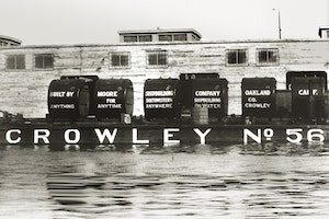 The first Crowley dock. (Photo: Crowley)
