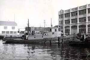 An early Crowley tugboat. (Photo: Crowley)