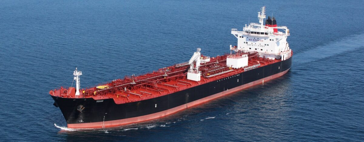 A Crowley tanker sails on. (Photo: Crowley)