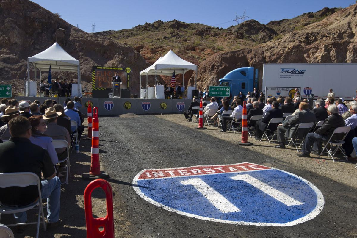 An official ceremony for Interstate 11. (Photo: Arizona Department of Transportation)