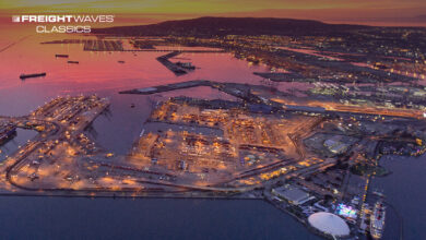 An aerial view of the Port of Long Beach. (Photo: Port of Long Beach)