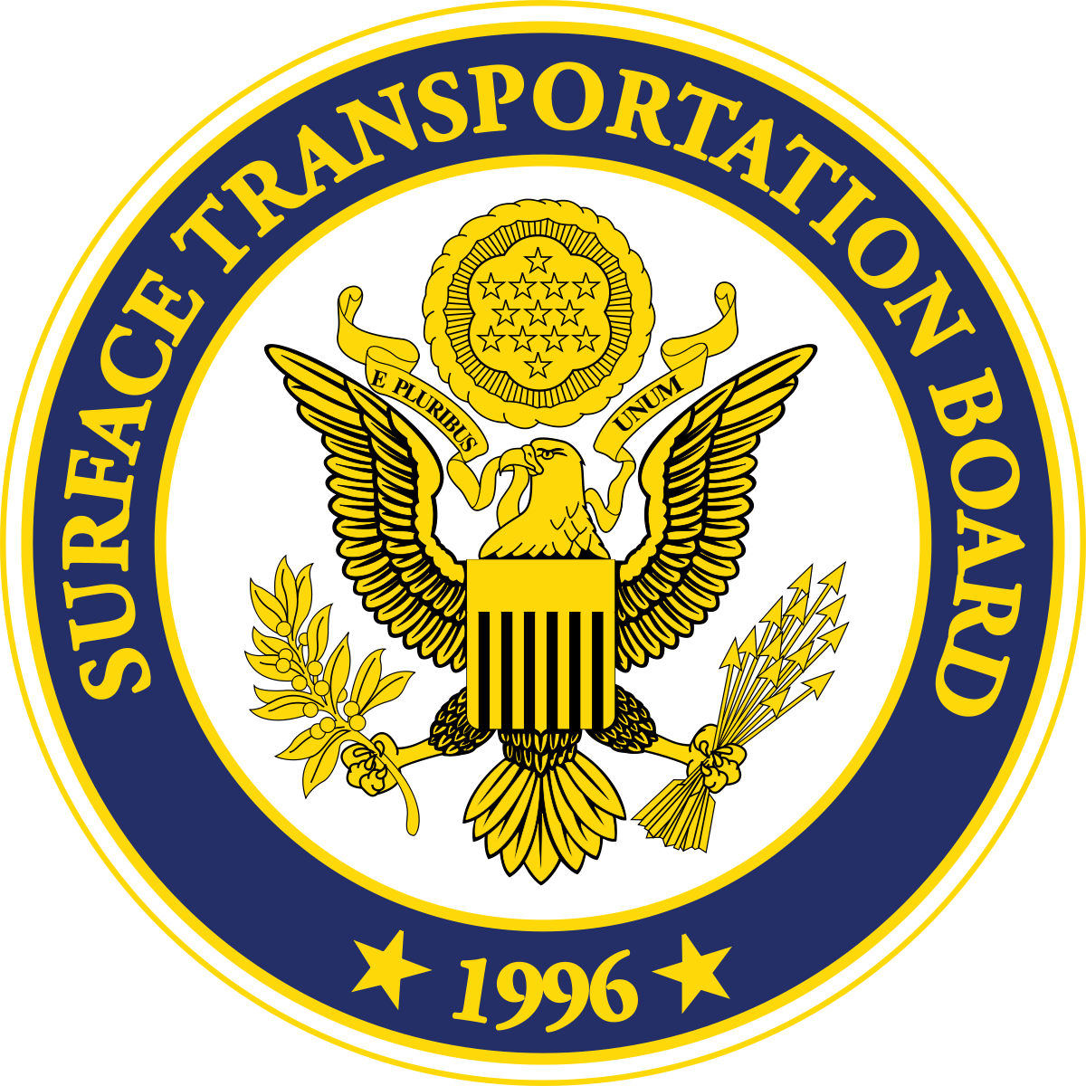 Seal of the Surface Transportation Board.  (Image: Wikimedia)