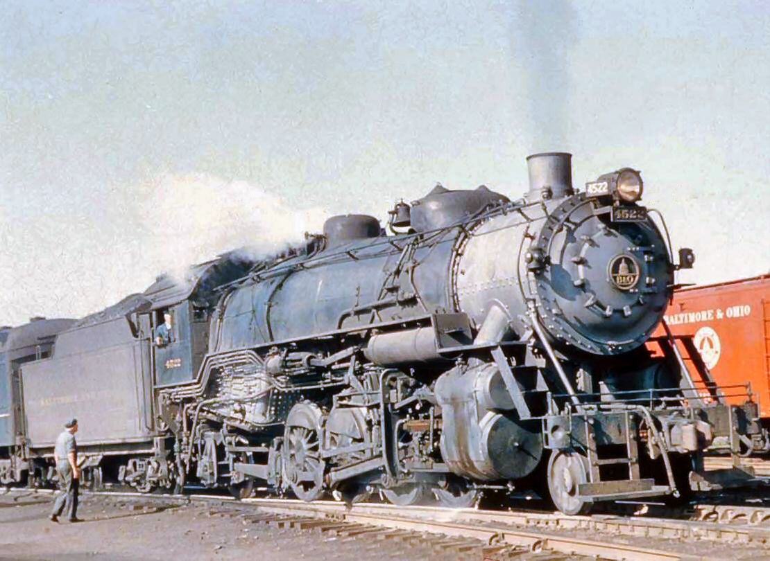 This Baltimore & Ohio Railroad locomotive was  purchased by the USRA for use by American railroads. (Photo: American-Rails.com)