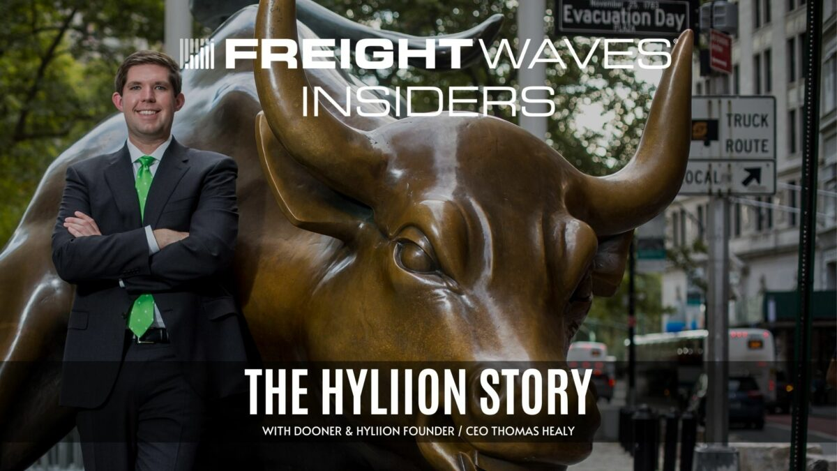 The Hyliion story with founder and CEO Thomas Healy