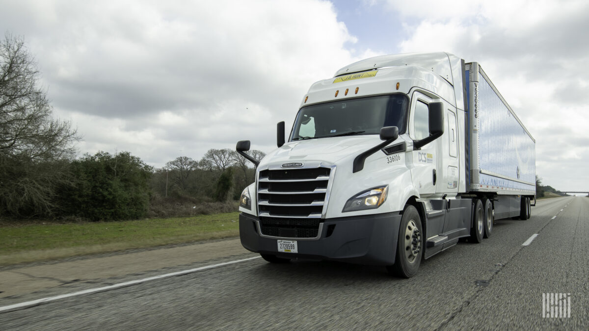 Rate increases drive trucking compliance higher in May