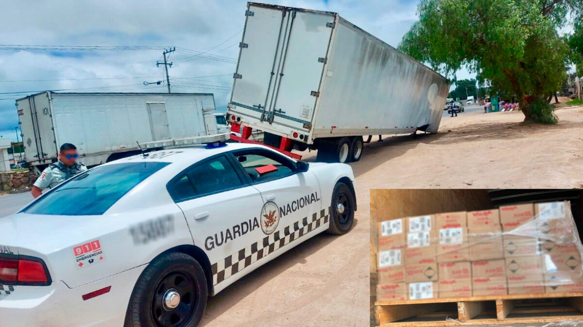 Bullets from hijacked US-bound trucks recovered in Mexico