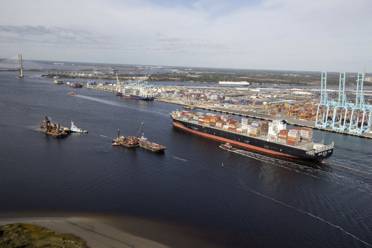 Florida's JAXPORT boasts record container volumes in May